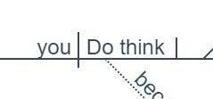 Do you think--you do think